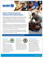 NAEMT Education flyer