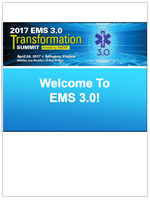 EMS 3.0 Transformation Summit Presentation