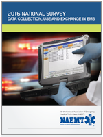 2016 National Report: Data Collection, Use and Exchange in EMS