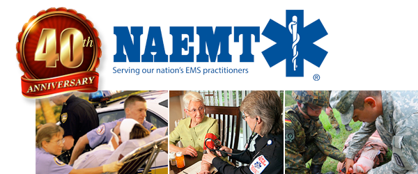NAEMT 40th Anniversary