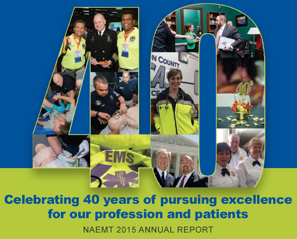 NAEMT 2015 Annual Report