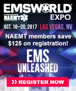 NAEMT Members Receive a $125 Discount on EMS World Expo