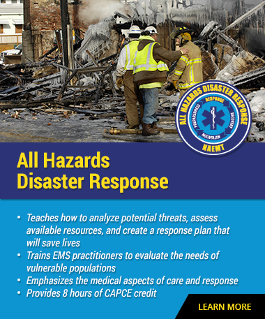 NAEMT All Hazards Disaster Response
