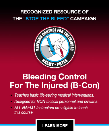Bleeding Control for the Injured (B-Con)