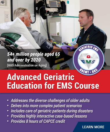 Advanced Geriatric Education for EMS