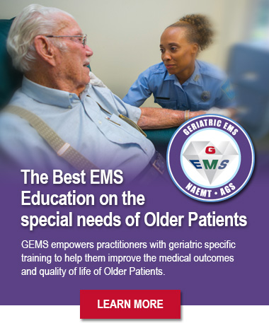 Geriatric Education for EMS