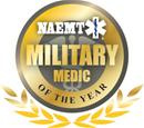 Military Medic of the Year logo
