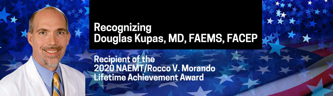 Dr. Kupas Lifetime Achievement Award